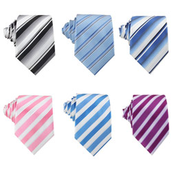 2018 fashion new style polyester Spot tie for business