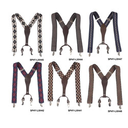 Custom-Made/Wholesale New men's Y-shaped woven elastic suspender for autumn