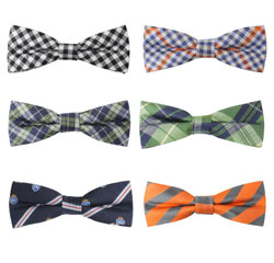 Wholesale 100% Silk High Quality Bow Tie Custom Matching Striped Bow Ties
