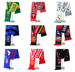 High Quality 2018 Knit Polyester Russia World Cup Fan Football Scarf
