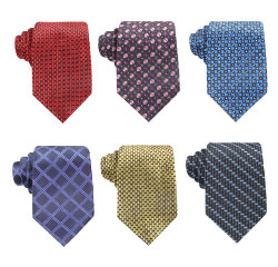 Chinese Woven Custom Men's Necktie 100% Handmade Polyester Ties