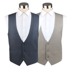 Chinese Providers Traditional Casual U Shaped Waistcoat for Men Design