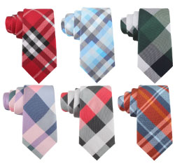 China Custom Designer Mens Business Ties Woven 100% Polyester Necktie for Sale