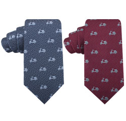 Zhejiang Electrombile Designer Style Polyester Fashion Woven Necktie for Mens