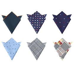 Design Your Own Hankies Custom 100% Cotton Printed Handkerchief For Men